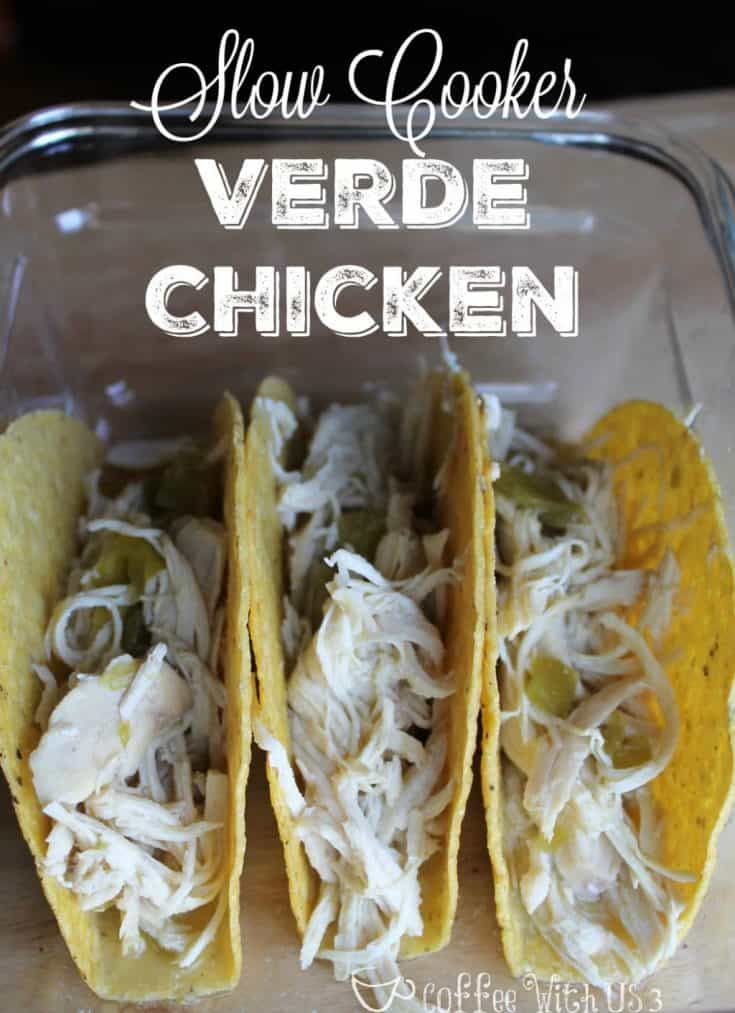 Slow Cooker Verde Chicken