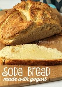 Soda Bread made with Yogurt