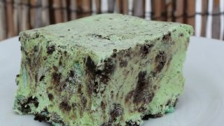 Mint Oreo Ice Cream Cake