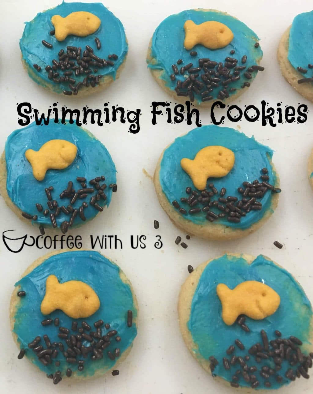 Swimming Fish Cookies