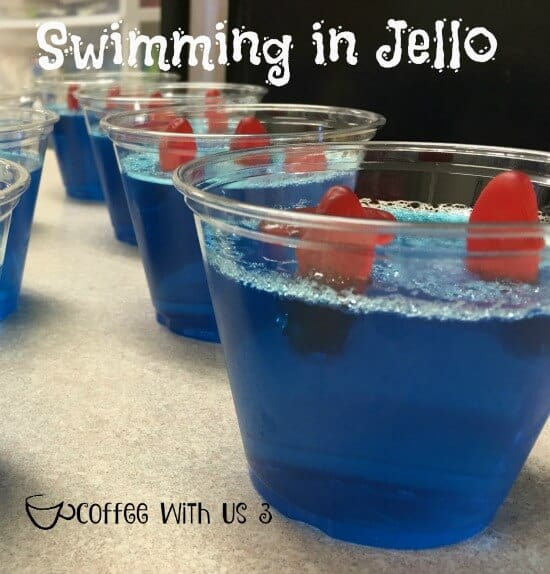 Swimming in Jello