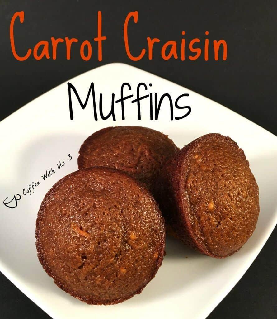 carrot-craisin-muffins