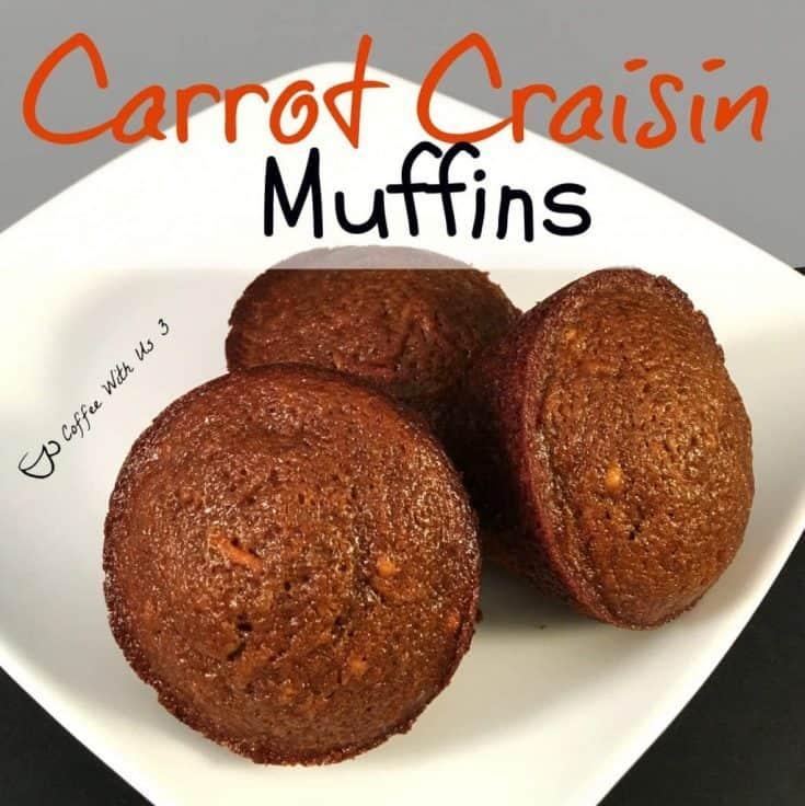 Craisin Carrot Muffins