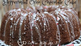 Peppermint Oreo Chocolate Cake