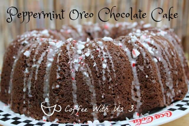 Peppermint Oreo Chocolate Cake - A dessert sure to impress at any holiday party!