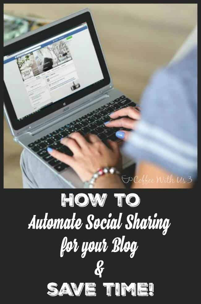 Find out how to automate your social sharing for your blog to save you time!