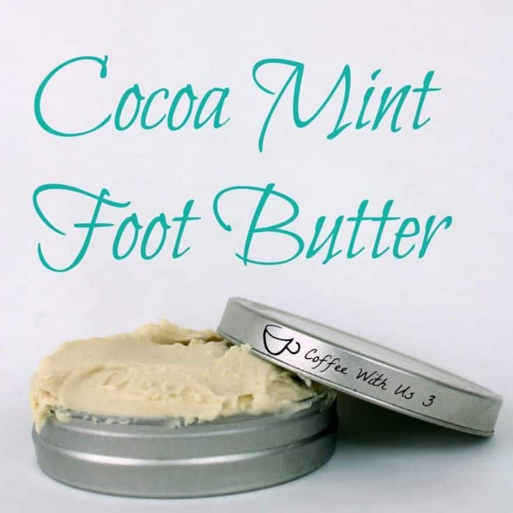 Cocoa Mint Foot Butter