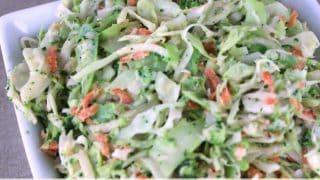 Jicama and Broccoli Coleslaw