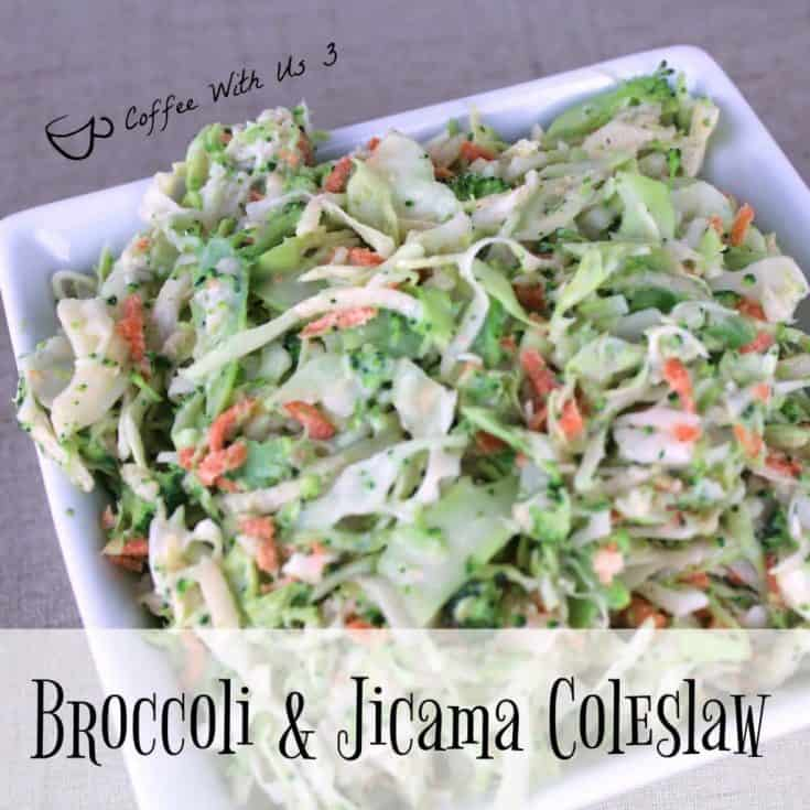 Broccoli and Jicama Coleslaw