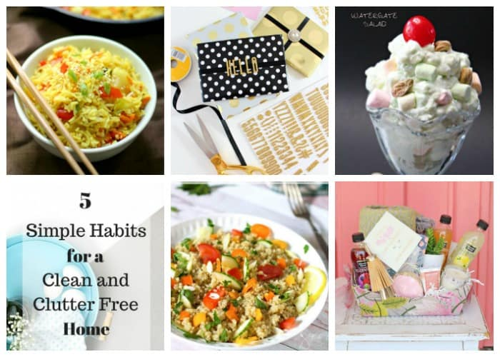 Welcome to Pretty Pintastic Party #159 and this weeks favorite, a Gluten-Free Treat from Rebecca a healthy, gluten-free and allergy-friendly food blogger over at Strength & Sunshine. Don't forget to check out the rest of the features below as well.