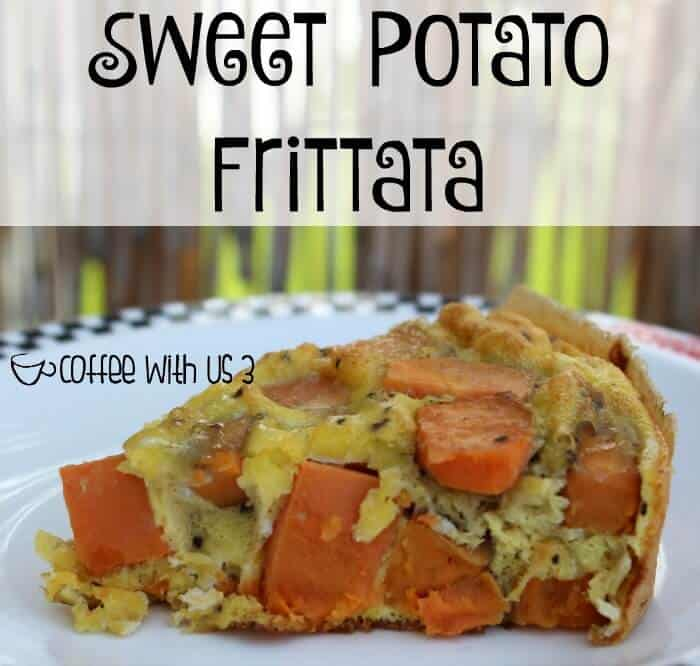 Do you love amazing egg dishes?  We do at our house and I love adding vegetables into my eggs.  This frittata is packed with sweet potatoes, onions, & bell peppers and is a delicious brunch, breakfast, or breakfast for dinner recipe.  Click the link to get the recipe now!