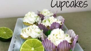 Vanilla Lime Curd Cupcakes