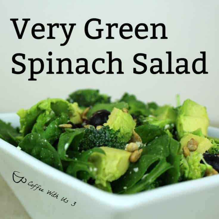 Very Green Spinach Salad