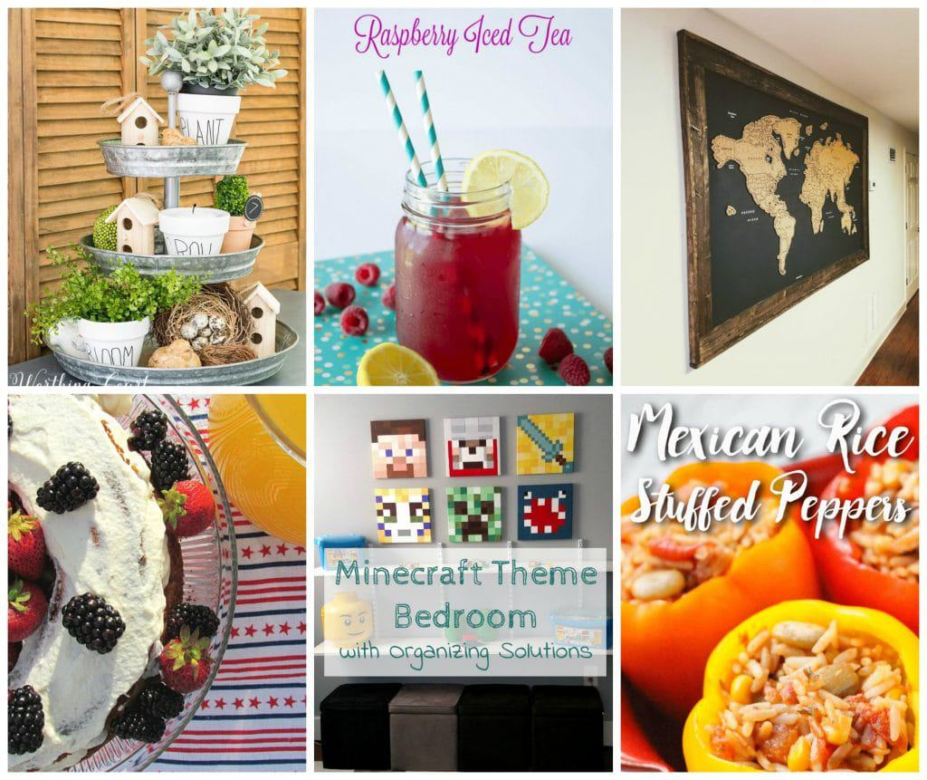 Welcome to Pretty Pintastic Party #164 & A Cherry Chocolate Brownie Recipe! My favorite from last week, this Cherry Chocolate Brownie recipe from Stacie over at Simply Stacie, screams eat me.