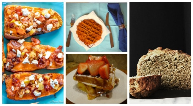 The Ultimate collection of Sweet Potato Breakfast Recipes! More than 35 recipes, including breads, waffles, pancakes, breakfast casseroles, and more!