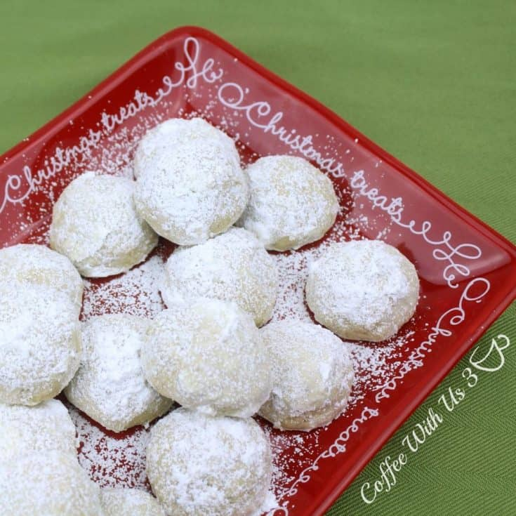 Swedish Snowballs Cookies