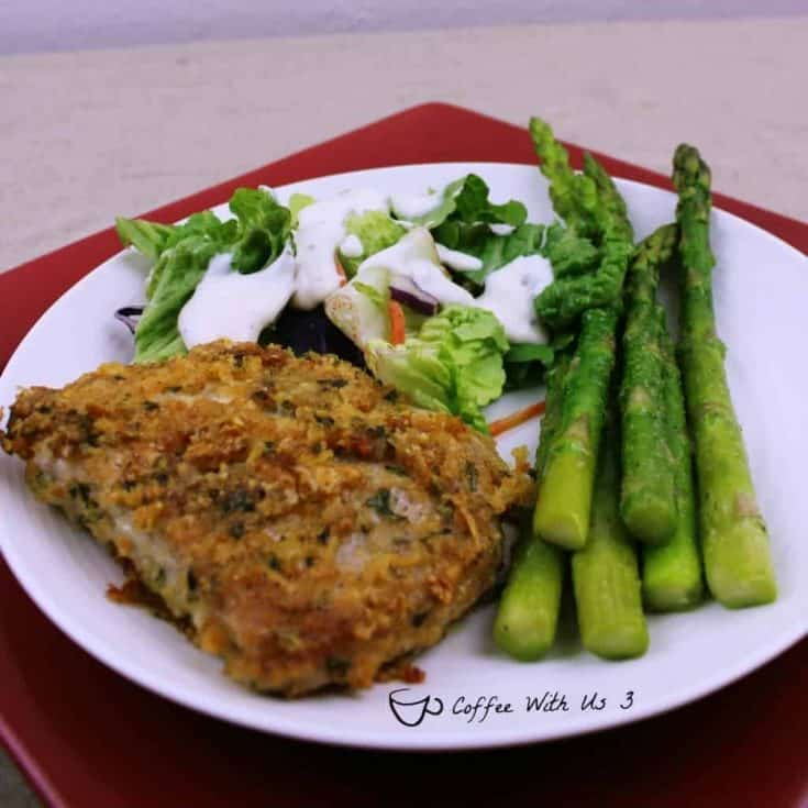 Parmesan Crusted Pork Chop