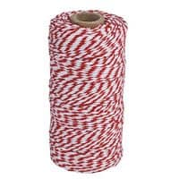 eBoot Cotton Kitchen Twine, Cooking String, Bakers Twines for Arts Crafts and Gift Wrapping, 328 Feet (Red)