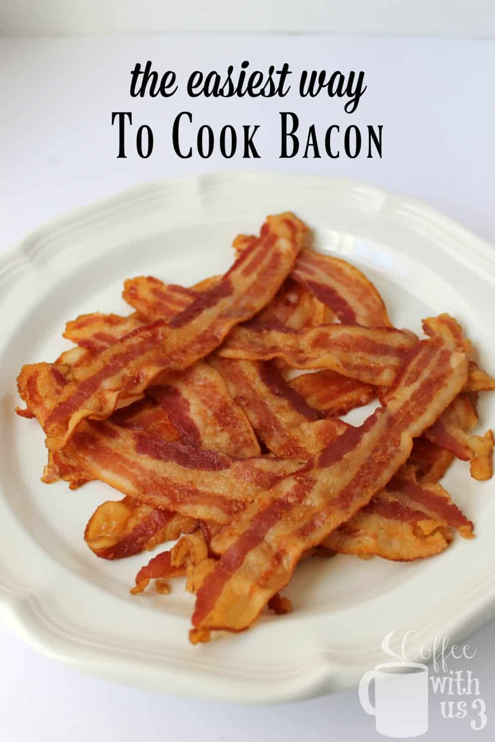 Tired of standing over a hot pan with grease splattering on you? Then you're going to love the easiest way to cook bacon, a hands-off approach!