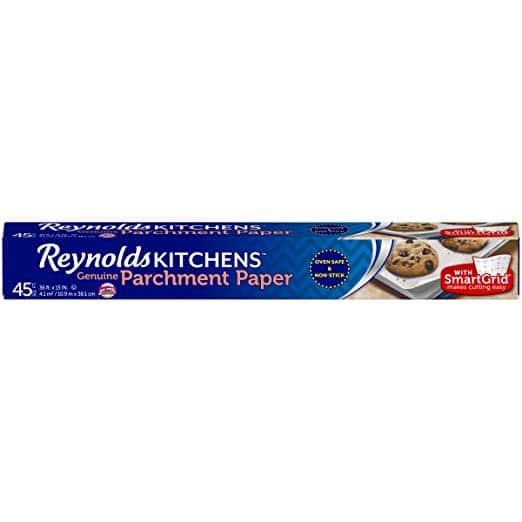 Reynolds Kitchens Parchment Paper (SmartGrid, Non-Stick, 45 Square Foot Roll)