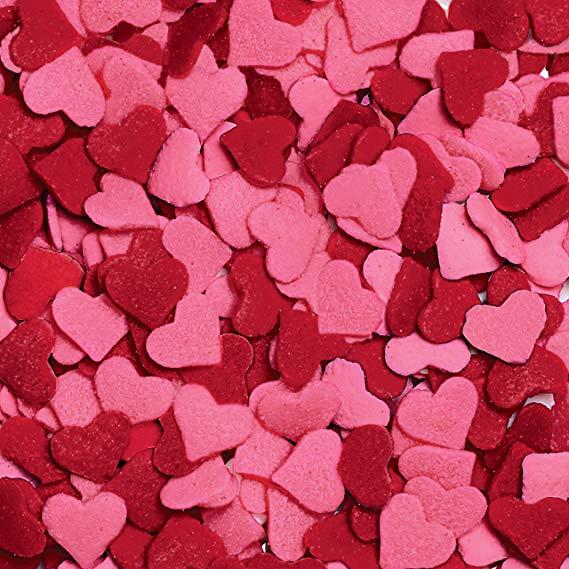 Wilton Jumbo Heart Sprinkles - 3.25 oz.