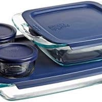 Pyrex Easy Grab Glass Bakeware and Food Storage Set (8-Piece, BPA-free)