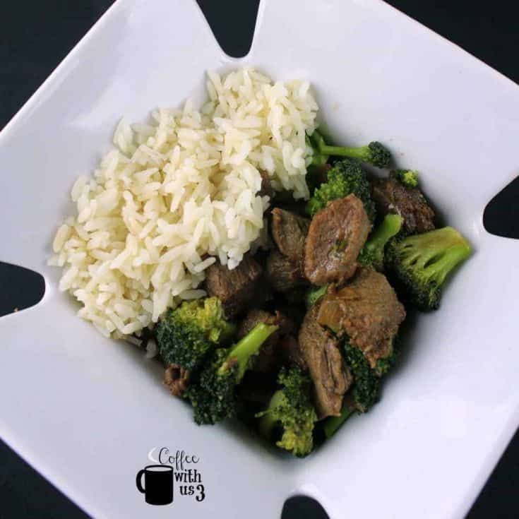 Instant Pot Stew Meat Beef and Broccoli