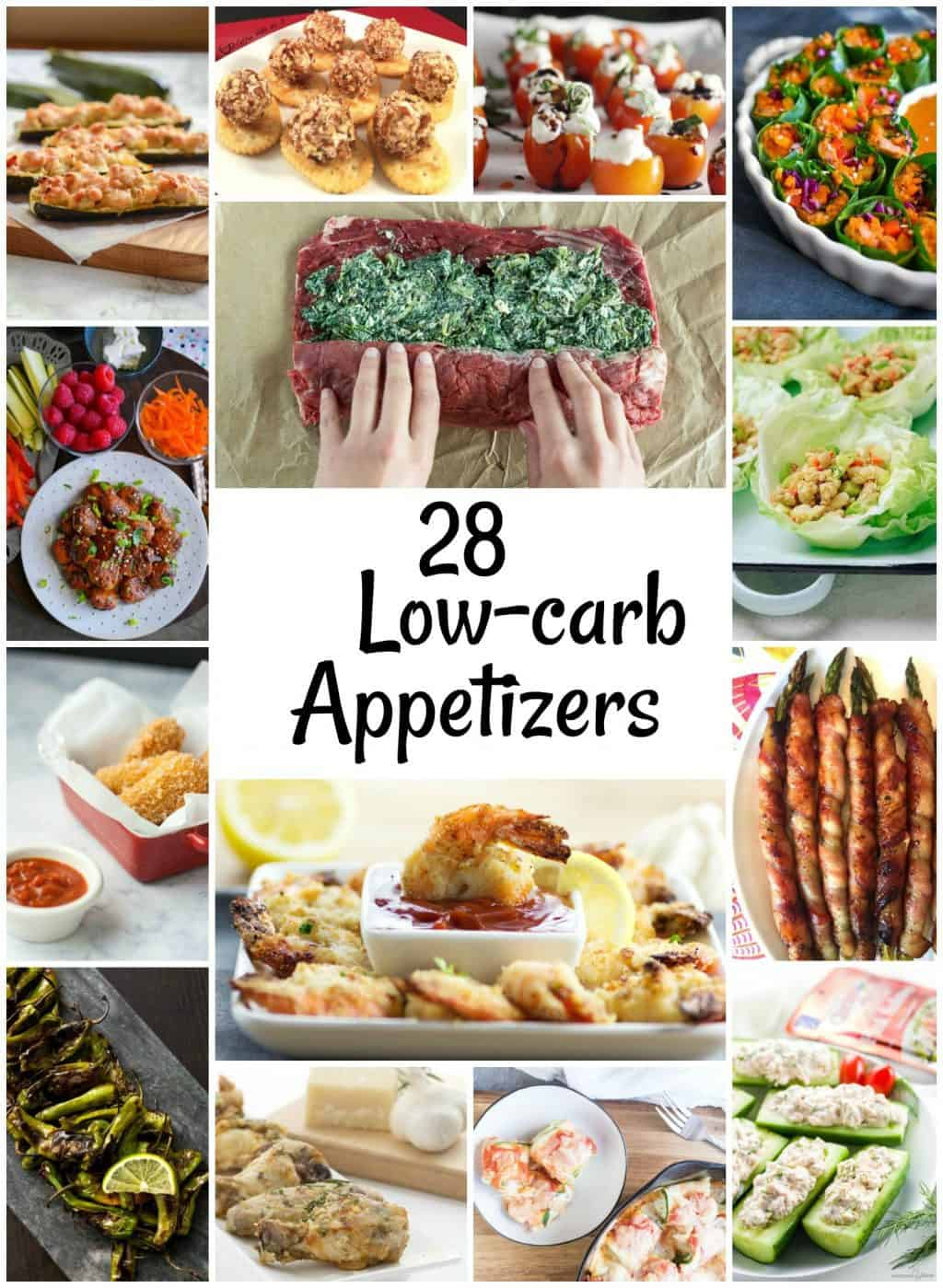28 Delicious low-carb appetizers (most are keto!) that are perfect for pleasing any crowd!