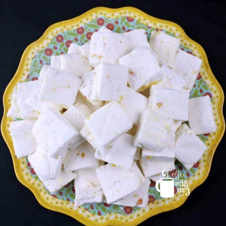 Orange Marmalade Marshmallows