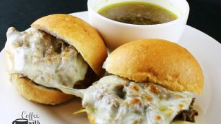 French Dip Sandwiches in the Slow Cooker