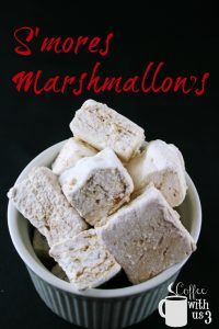 S'mores Marshmallows in a small bowl
