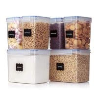 Food Storage Containers 6 Pieces