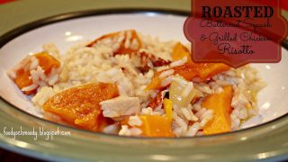 Roasted Butternut Squash & Chicken Risotto