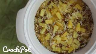 CrockPot Pina Colada Cake