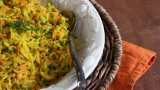 Harvest Squash Casserole {How To Cook Spaghetti Squash}