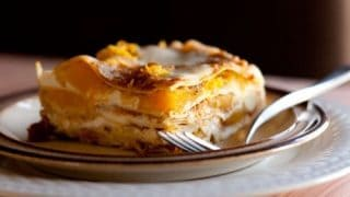Pumpkin Lasagna with Roasted Butternut Squash