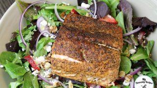 Strawberry Fields Salmon Salad Recipe