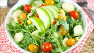 Apple And Tomato Arugula Salad