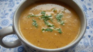 Creamy Butternut Squash and Hazelnut Soup