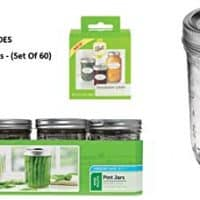 12 Ball Mason PINT Jars Wide-Mouth Can or Freeze with Lids and Bands