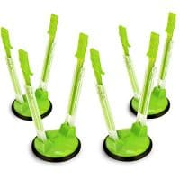4 Pack Ziploc Bag Holder Stands for filling Bags