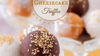 Gingerbread Cheesecake Truffles