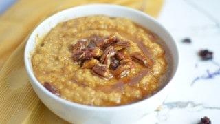 Instant Pot Pumpkin Quinoa Breakfast Porridge