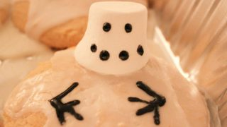 Melting Snowmen! Sugar Cookies