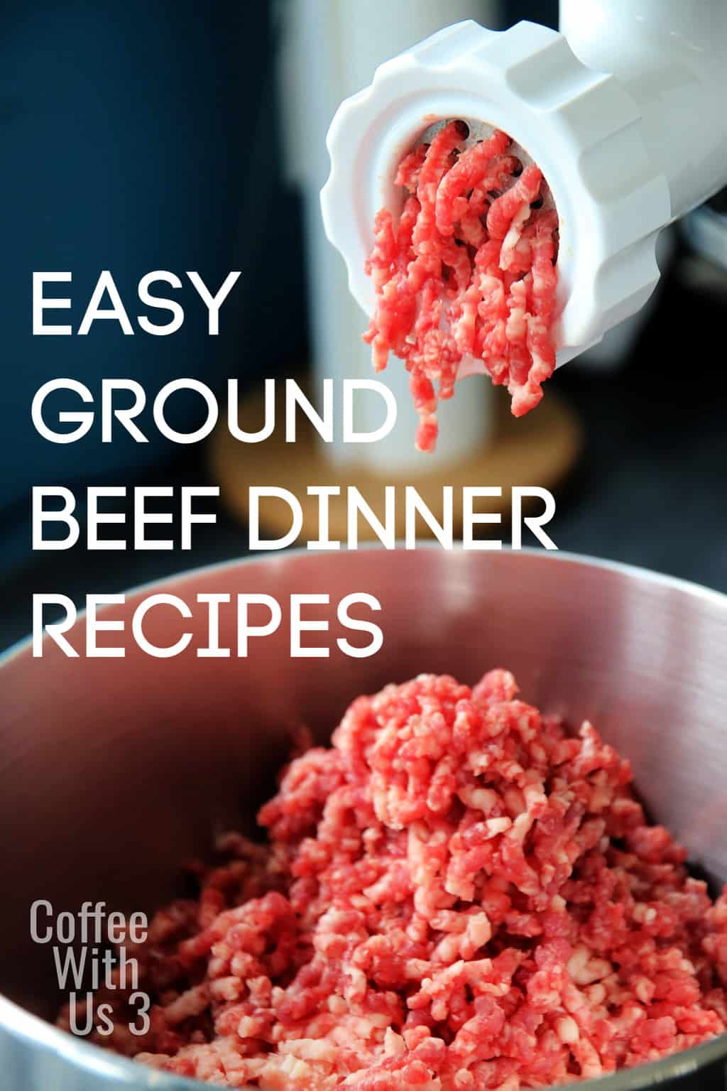 Ground beef is one of the easiest meats to cook with.  This makes it the perfect meat for the nights when you're running behind on making dinner.