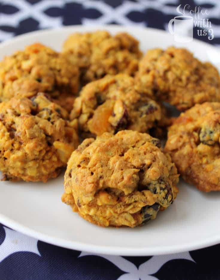 Sunrise Breakfast Cookies